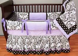 Lilac Damask Crib Bedding Delaney Lavender Baby Bedding This Custom Baby Crib Bedding Set