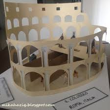 Ideas For Ks2 Roman Project | mikahaziq easy colosseum project for kids