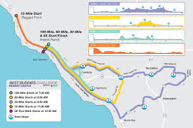 Map Route by Routes Hearst Castle