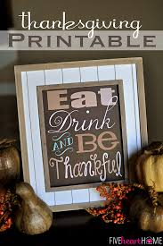 Thanksgiving Printable Free Thanksgiving Quote Free Printable