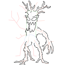 draw tree monsters