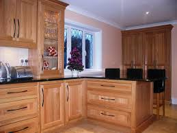 Light Oak Kitchen Light Oak Kitchen Cabinets Designs Ideas Riothorseroyale Homes