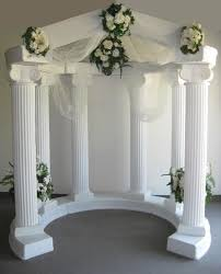 wedding arches and columns for sale pic of weddin column wedding column arches archway