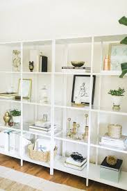 decorate office shelves how to decorate open shelves in living room meliving 575176cd30d3