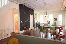 interior design ideas brooklyn townhouse reno exposes beams