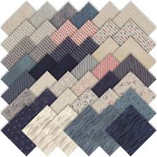 moda flight charm pack by janet clare 42 5 quilting cotton