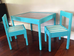 Ikea Kids Chairs Ikea Latt Kids Table Hack All Parts Spray Painted Before Assembly