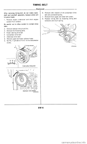 nissan maxima power steering hose nissan 300zx 1986 z31 engine mechanical workshop manual
