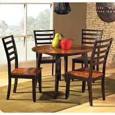 drop leaf dining room tables steve silver abaco 5 piece double drop leaf dining table set