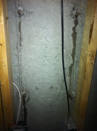 spikes through foundation wall leaking carpentry contractor talk