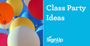 party ideas for class party ideas signup