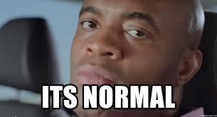 Anderson Silva Meme - its normal anderson silva isn t amused meme generator