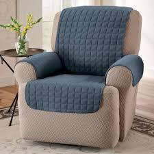 blue recliner slipcovers you u0027ll love wayfair