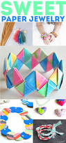 60 rockin u0027 paper crafts paper jewelry crafts and activities