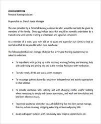 resume job description cna nursing assistant job duties certified nursing assistant job