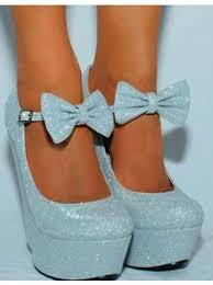 Light Blue High Heels Light Blue Wedge Heels Fs Heel