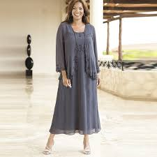 plus size mother bride dresses tea length jacket other