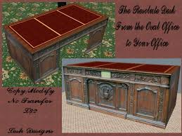 virtual resolute desk in second life virtual world resolute