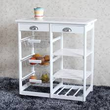 kitchen storage cabinets with drawers shop wood kitchen storage rolling cart dining trolley