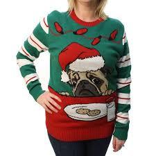 pug sweater sweater plus size s pug cookies light up