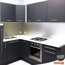 meuble haut cuisine noir laqué meuble haut cuisine noir meuble haut cuisine gris id es d coration