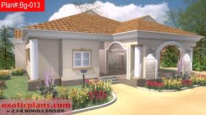 Bungalo House Plans Free 4 Bedroom Bungalow House Plans In Nigeria Youtube