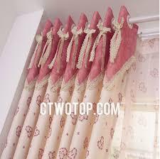 Cheap Cute Curtains Blackout Pink Patterned Cute Unqiue Cheap Kids Short Curtains No