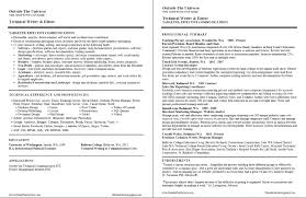 Technology Manager Resume How To Write A Tech Resume 13 Technical Service Uxhandy Com