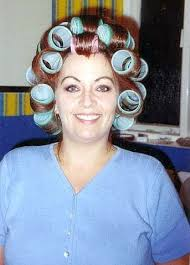 forced to wear hair rollers 204 best beauty salon images on pinterest hair salons lash