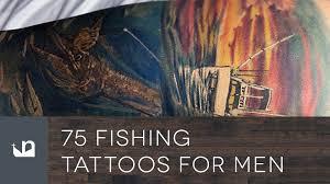 75 fishing tattoos for