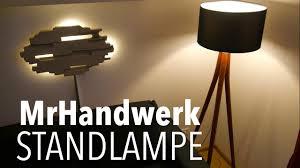 Wohnzimmer Lampe Anleitung Diy Lampe Aus Schaufelstielen Bauen Anleitung Mrhandwerk
