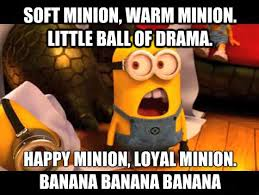 Sleepy Kitty Meme - sing soft minion sleepy kitty kitty and bananas