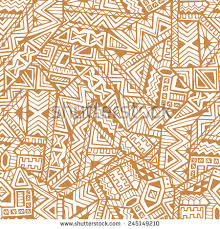 ethnic seamless pattern tribal stock vector 233014249