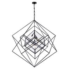 cubist large chandelier aged iron large chandeliers kelly