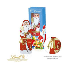 lindt father christmas gift box promotional gift box containing a