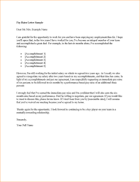 letter format for salary increase image collections letter
