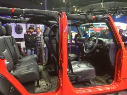 jeep wrangler india jeep wrangler unlimited showcased at the 2016 delhi auto expo valve