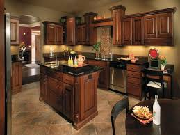 What Color To Paint Kitchen Cabinets With Black Appliances Paint Colors For Kitchens With Cabinets Paint Update Oak