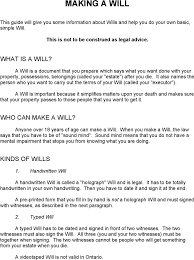 ontario last will and testament form download free u0026 premium