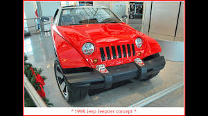 jeep sports car concept jeep jeepster concept