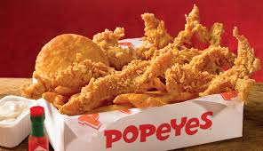 california restaurant gets serving popeyes chicken fortune