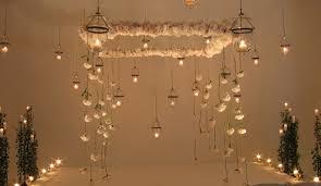 wedding backdrop lights floating chuppah and lights ceremony backdrop wedding decor by david
