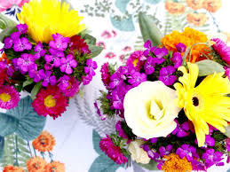 How To Make Floral Arrangements How To Make A Pretty Floral Arrangement In A Bowl My Poppet Living