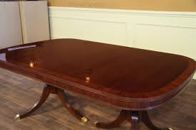 10 Foot Dining Room Table Fine Mahogany Dining Table With Two Leaves Opens To 10 Feet