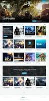 website homepage design movierise web homepage imdb u0026 netflix inspired free psd