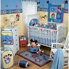 Mickey And Minnie Crib Bedding New 2014 Blue Mickey Mouse Boys Baby Bedding Sets Crib Cot