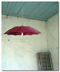 Umbrella Ceiling Light Scraphacker