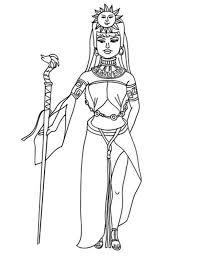 queen aztec coloring pages bulk color