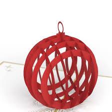 ornament 3d pop up card lovepop