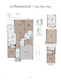 Ashton Woods Floor Plans by Rosewood Home Plan By Gehan Homes In Lakes Of Bella Terra